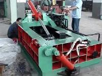 metal scrap bailing machine