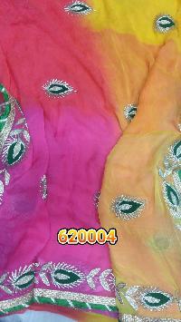 40-40 GM-62004 Chiffon Viscose Sarees