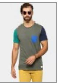 abof Men Grey Slim Fit T-shirt