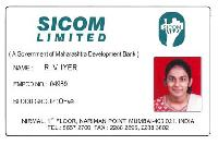 PVC Employee ID Card