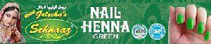 Green Nail Henna
