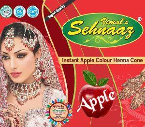 Instant Apple Henna Cones