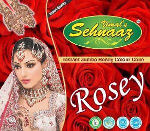 Instant Jumbo Rosey Henna Cones