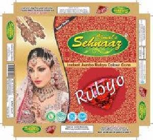 Instant Jumbo Rubyo Henna Cones