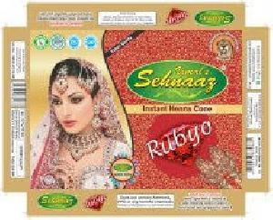 Instant Rubyo Henna Cones