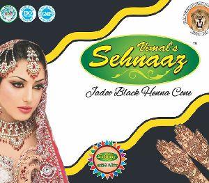 Jadoo Black Henna Cones