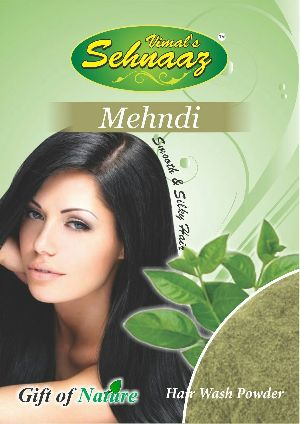 Mehandi Hair Wash Powder