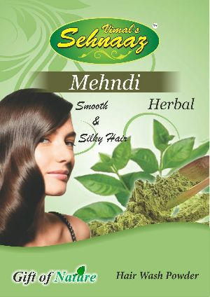 Mehandi Herbal Hair Wash Powder