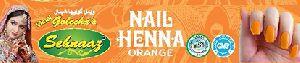 Orange Nail Henna