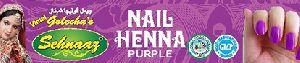 Purple Nail Henna