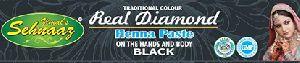 Real Diamond Black Henna Paste