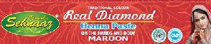 Real Diamond Maroon Henna Paste
