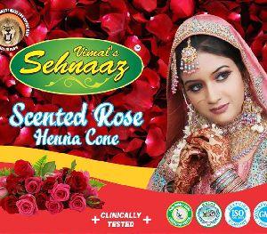 Scented Rose Henna Cones