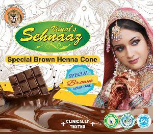 Special Brown Henna Cones