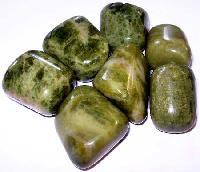 Vesuvianite Tumbled Polished Stones