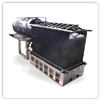 Steam Boiler with Membrane Panel Furnace