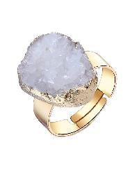 Druzy Stone Ring