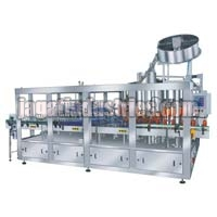 Gravity Combiblock Rinsing Filling & Sealing Machine