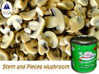 Canned Pieces & Stem Mushroom