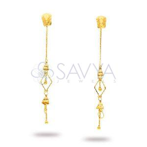 RFT04 Gold Rajkot Earring