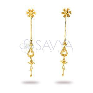 RFT07 Gold Rajkot Earring