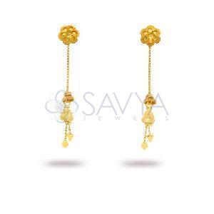 RFT09 Gold Rajkot Earrin
