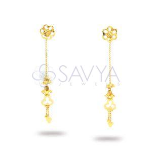 RFT10 Gold Rajkot Earrin