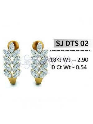 SJDTS 02 Diamond Earring