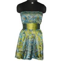 Satin Bustier Dress