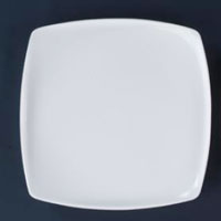 Full & Quarter Square Acrylic Dinner Plate