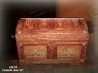Wooden Carved Captain Box with Wood Inlaid ,Wooden Captain Chest,Wooden Captain Box,Rosewood Plane Top Captain Chest