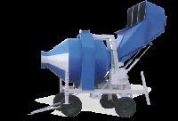 Reversible Drum Electric Concrete Mixer