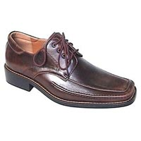 Men's Leather Shoes (Brown)