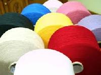 Recycled Coloured Poly Cotton Yarns