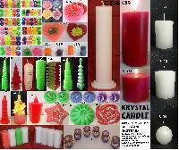 Decorative Fancy Pillar Floating & Tealight Candles