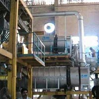Rotary Dryer And Sieving Plant