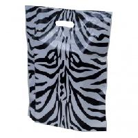 Zebra Animal Print Plastic Carrier Bags