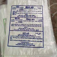 PP White Printed Sacks