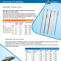 Light Construction Equipment & Shuttering And Scaffolding