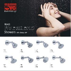 Brass Overhead Showers