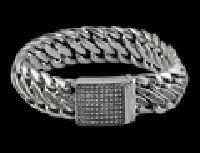 Black Diamond Link Bracelet