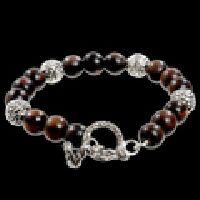 Bocote Wood Beaded Bracelet