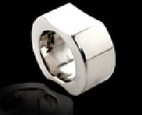 Thick Fitted Silver Ring