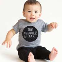 Baby Round Neck T-shirt