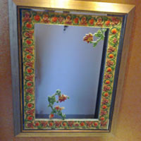Designer Hand Painted Mirrors
