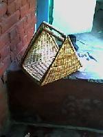 Triagle Hamper Basket