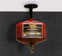 Safe Automatic Fire Extinguisher