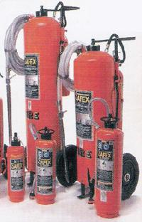 Water Gas Type Fire Extinguisher (powder)
