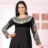 Black Wedding Party Wear Attractive Anarkali Salwar Suits