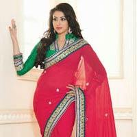 Elegant Party Wear Indian Designer Saree